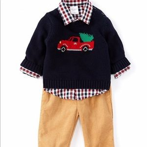 Starting out toddler boys 3 piece suit